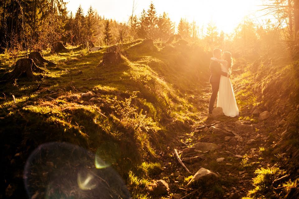 Svadba v prírode - v Beskydách Jany a Tomáša