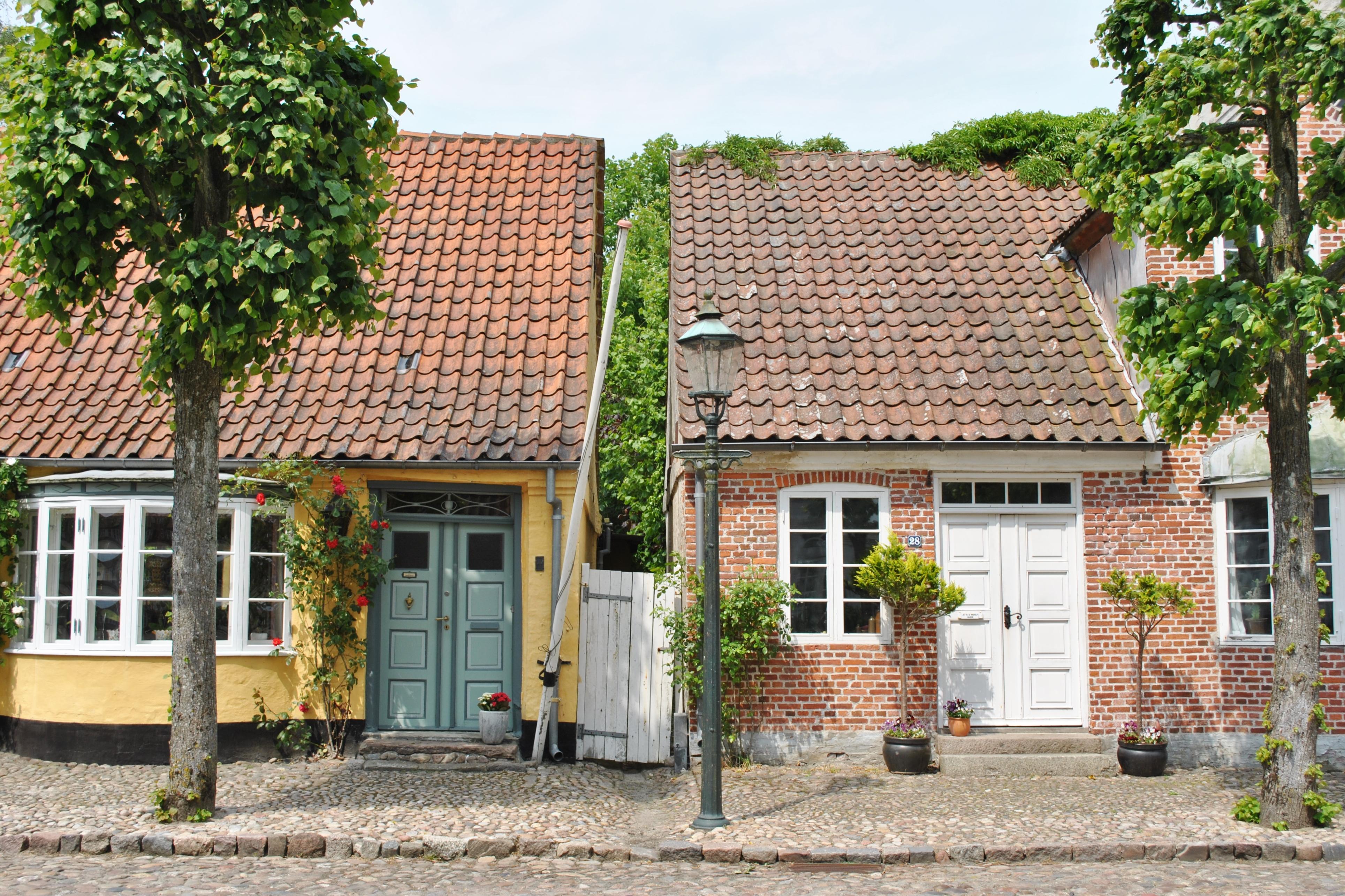 Dedinka Møgeltønder je ako vystrihnutá z rozprávky