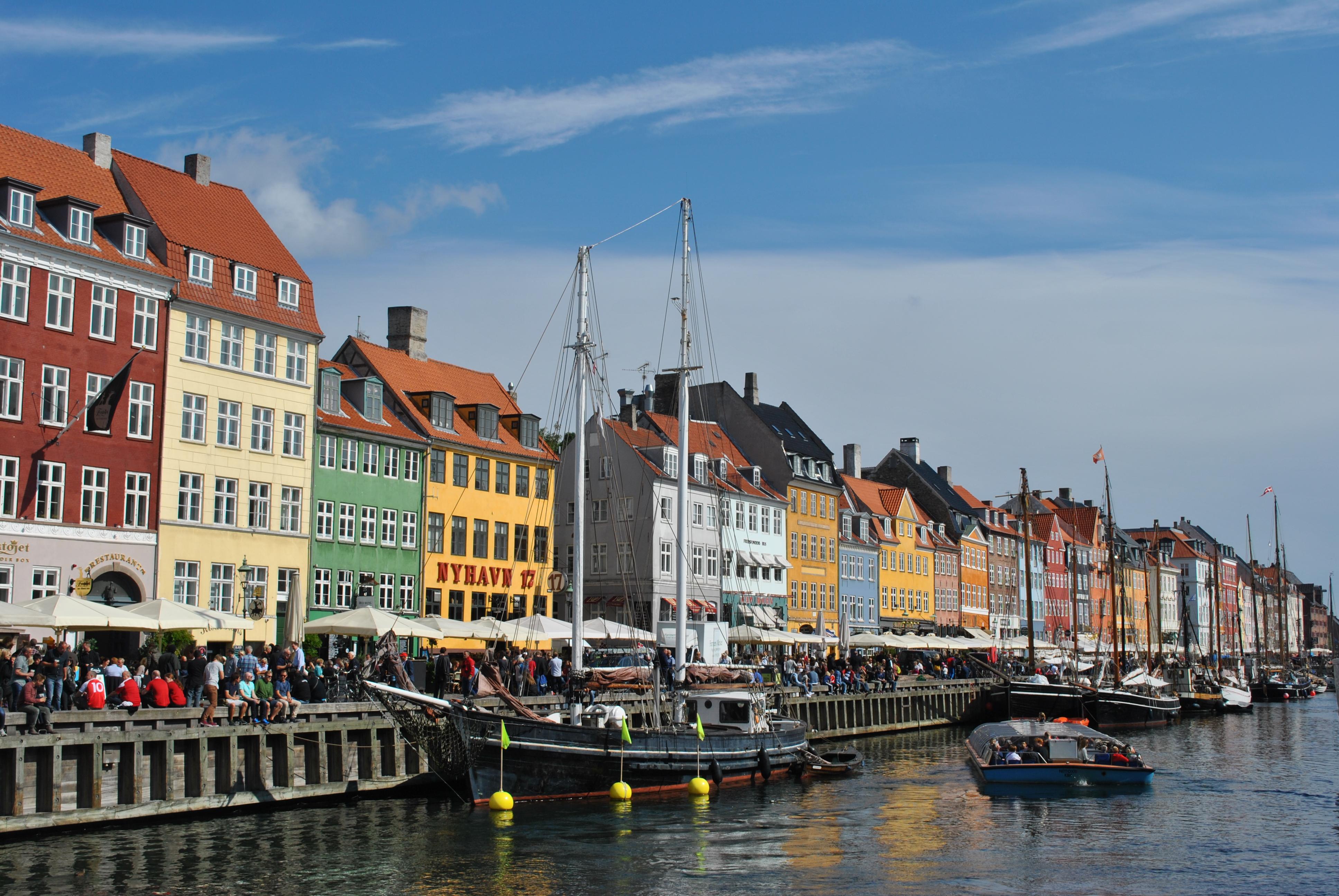 Starý prístav Nyhavn, jedno z najikonickejších miest v dánskej Kodani