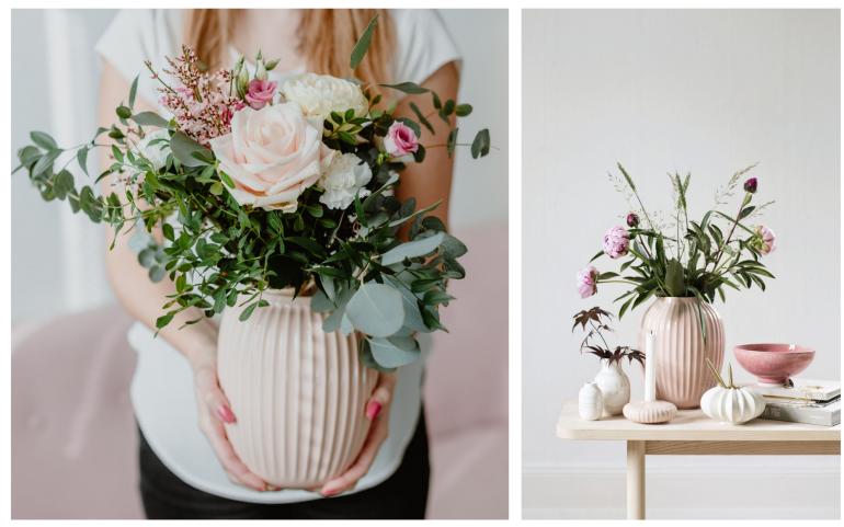 svatební dar váza Kähler