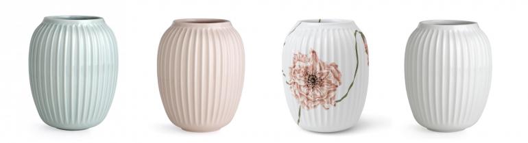 svatební dar - vázy Kähler
