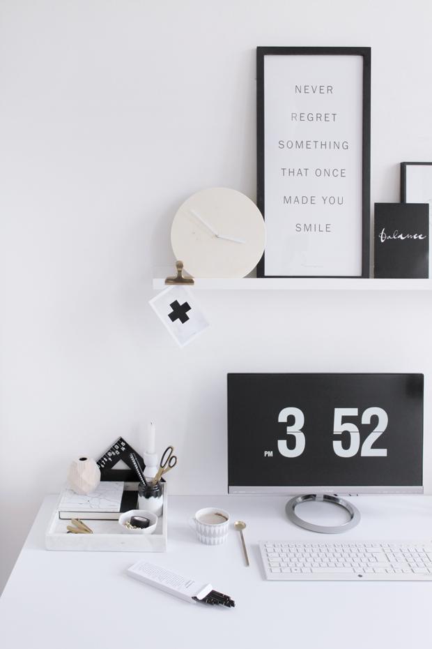 minimalistická pracovna 1