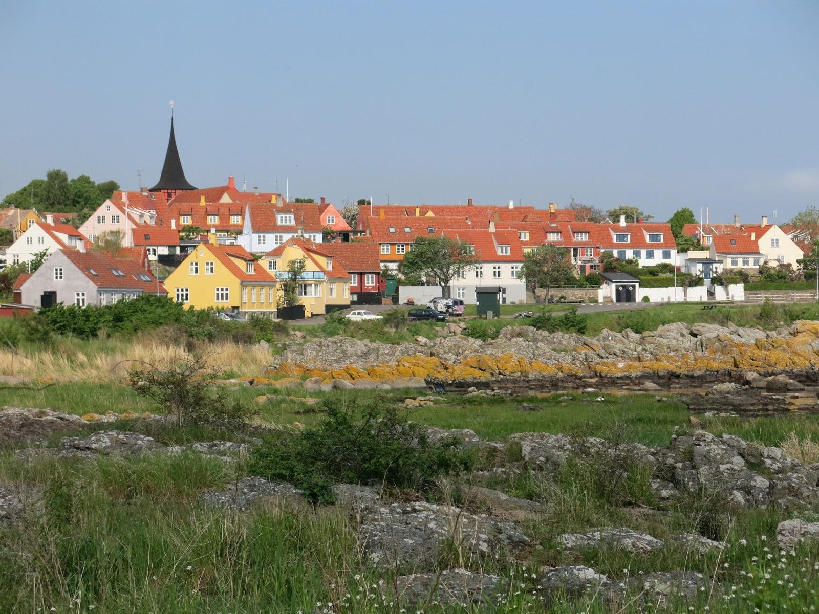 V meste Svaneke na ostrove Bornholm si musíte dať miestnu špecialitu - údenú rybu