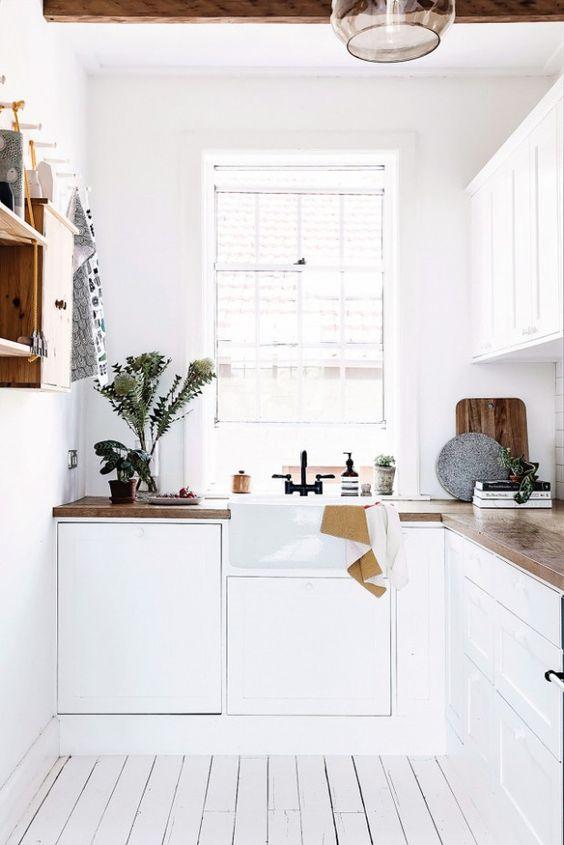 kuchyňa v škandinávskom štýle