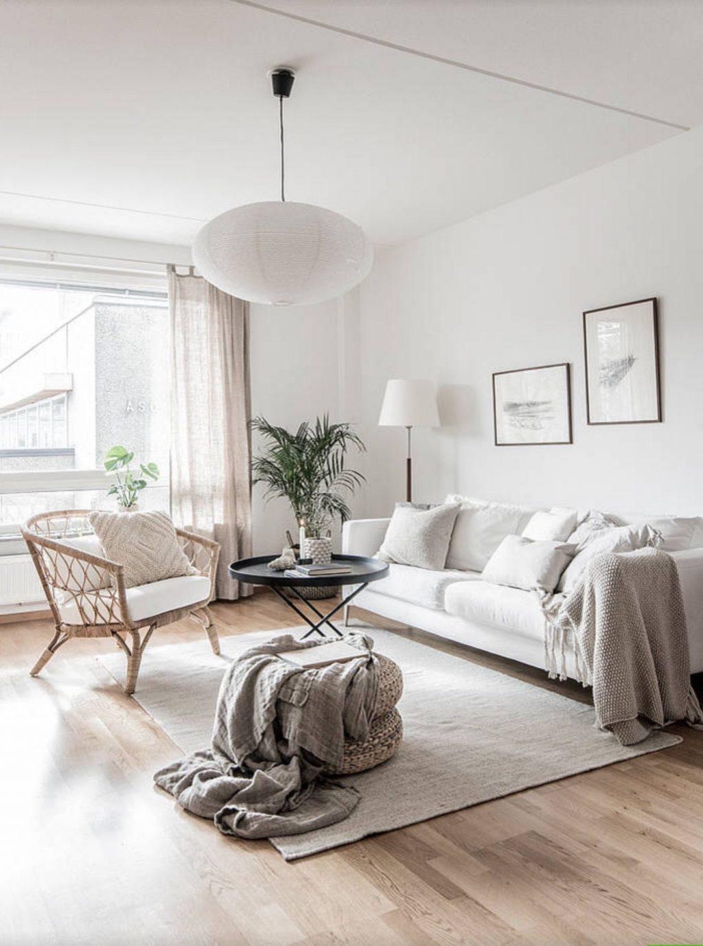interiér v škandinávskom štýle