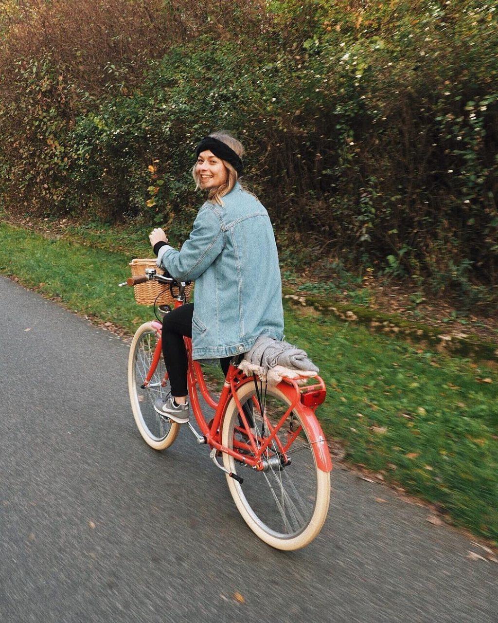 Blogerka Terezen občas jezdí v Praze na kole