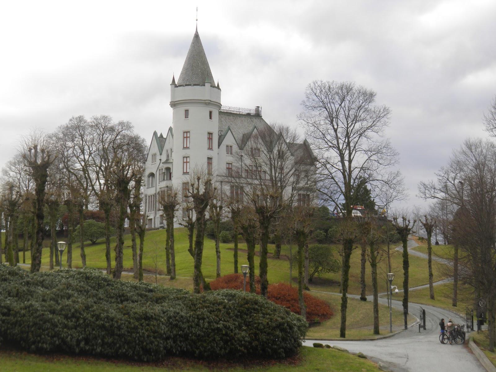 Norský Bergen je jedno z nejdeštivějších míst Evropy