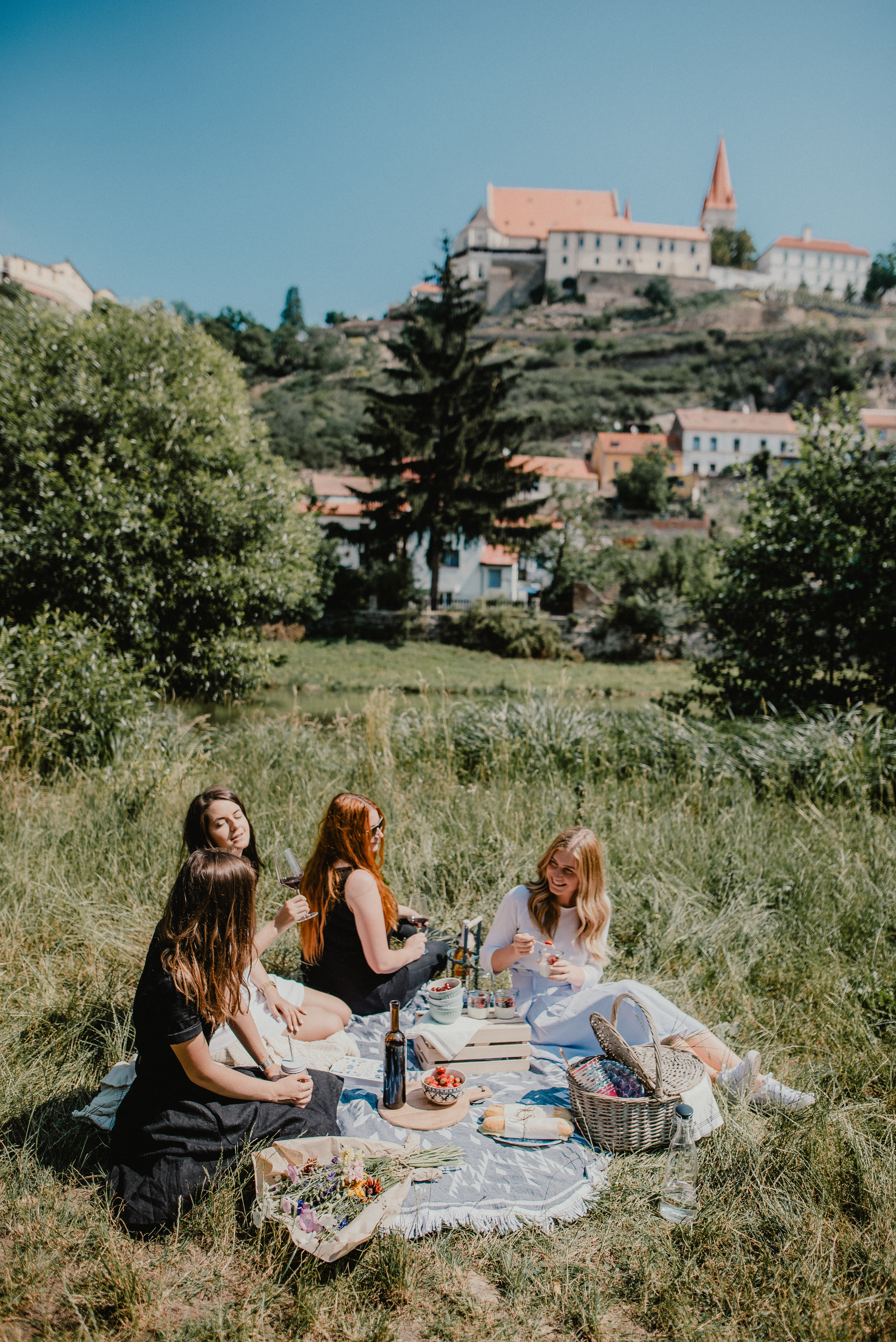 Piknik s výhledem na krásné Znojmo