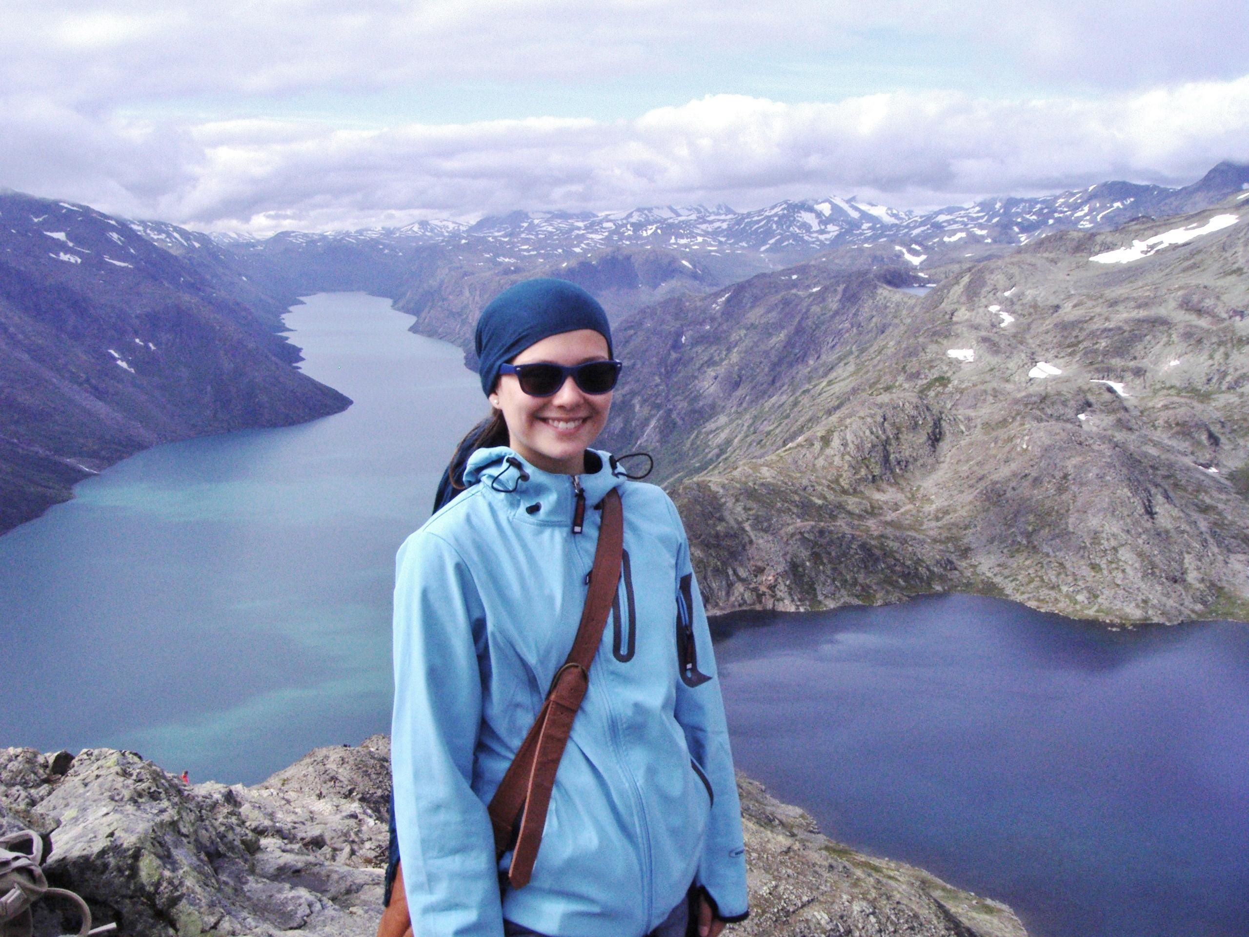 Výstup na Besseggen považuje Anka za jeden z nejkrásnějších životních zážitků