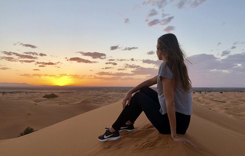 Z Maroka si Míša odvážela spoustu krásných zážitků, a to nejen ze Sahary