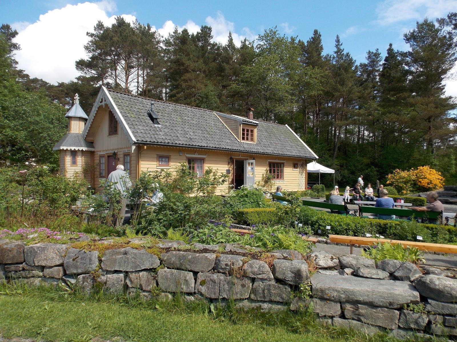 Arboretum na okraji Bergenu. Prostě úchvatné!