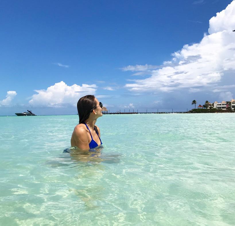Blogerka cestovatelka Míša v Mexiku