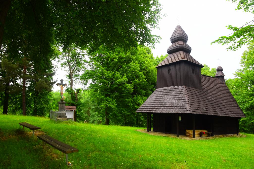 Gréckokatolícky kostol Ruská Bystrá je zapísaný na zozname UNESCO