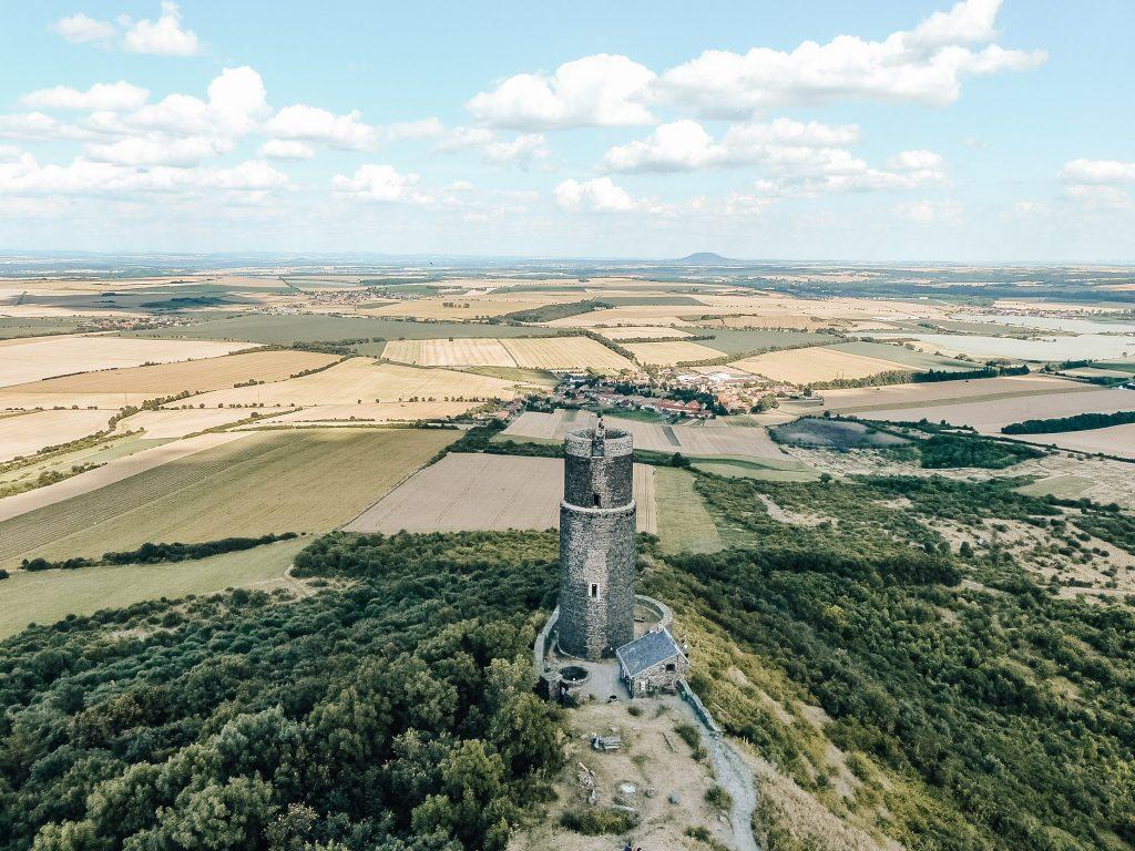 Jeden z nejhezčích výhledu na České Středohoří? Podle blogerky Radky je z hradu Hazmburk