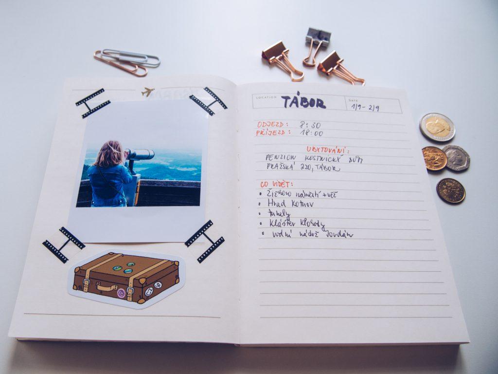 Na začátku září se Terka chystá na výlet do Tábora. A kam máte namířeno vy?
