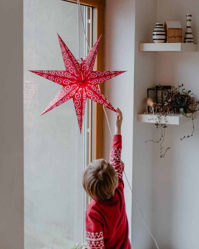 svítící hvězda