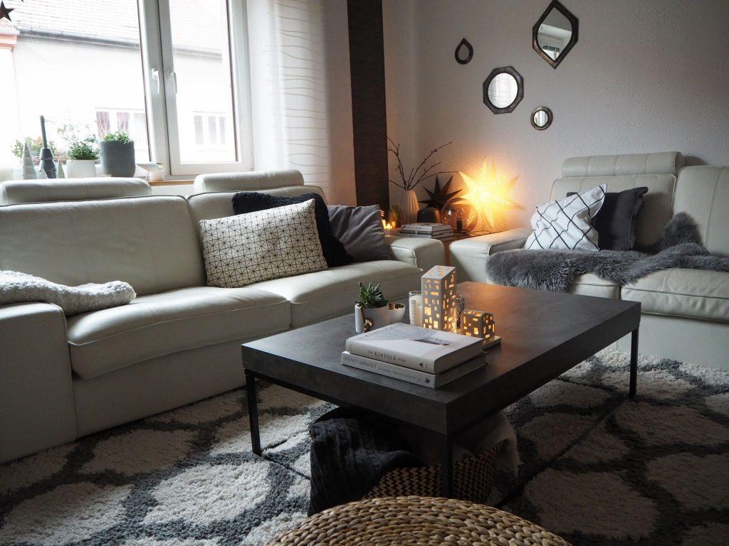 Obývačka v škandinávskom štýle