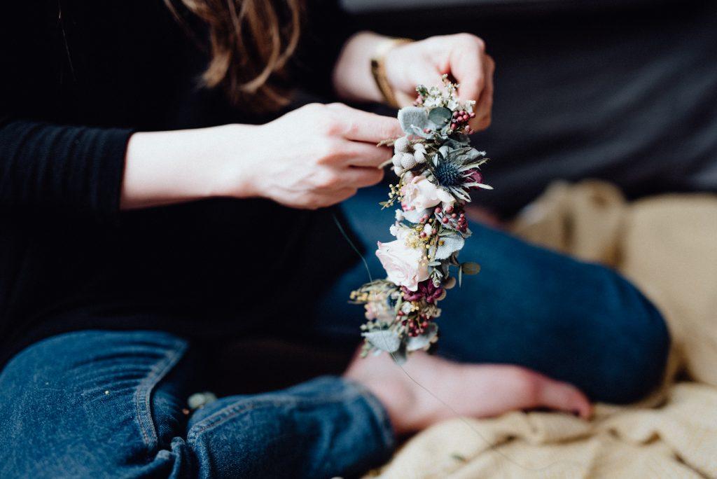Květinový věneček