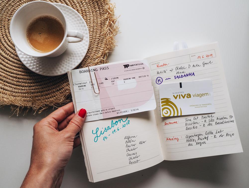 cestovateľský denník v Lisabone