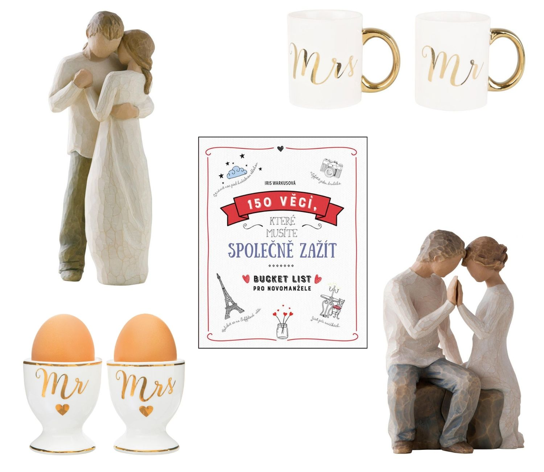 Svatební dary pro romantické duše