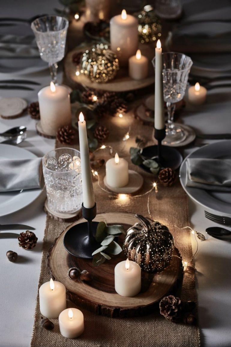 Dekorácie na stôl