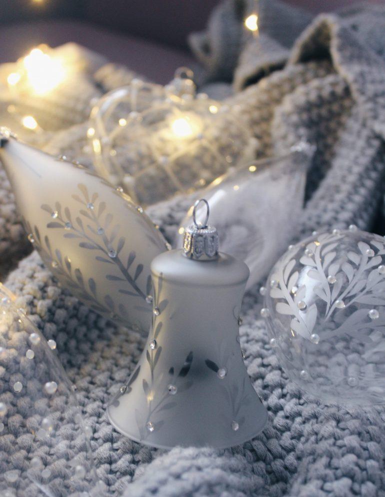 vánoční ozdoby glassor