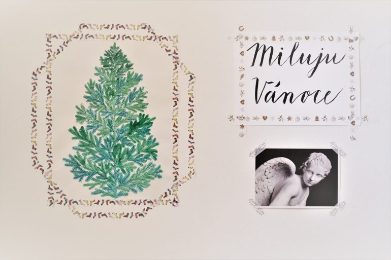 vánoční plakáty