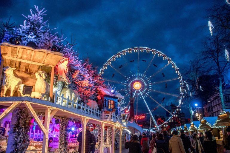 Vánoční trhy v Bruselu