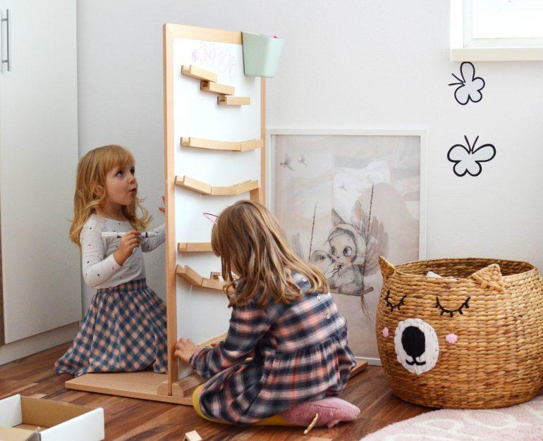 skandinávský dětský pokoj