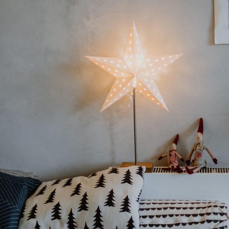 světelná vánoční hvězda