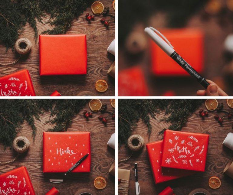 návod na vánoční dárek