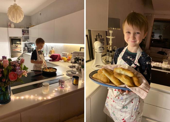 vaření a pečení s dětmi
