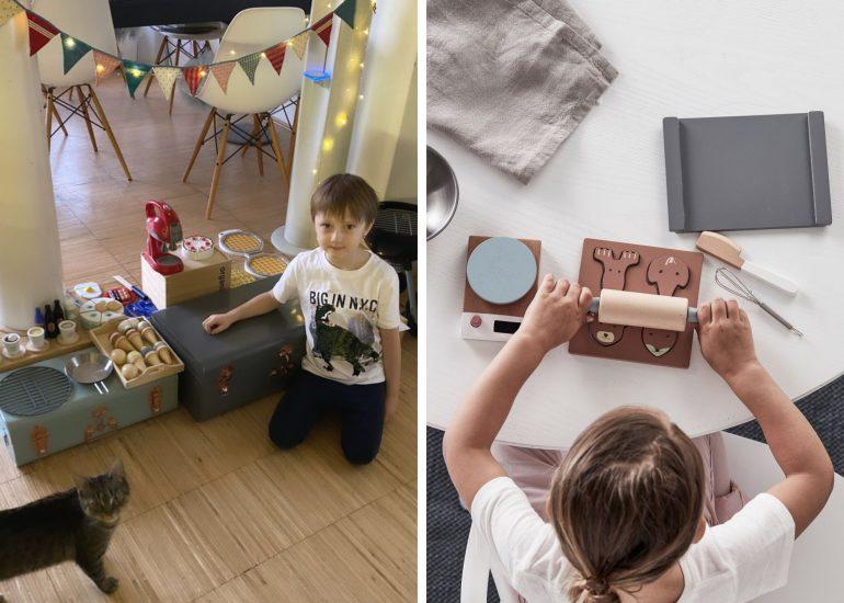 """S """"kuchařskými"""" hračkami se děto dokážou zabavit opravdu na dlouho"""