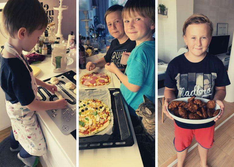 Zapojte děti do vaření a pečení - bude je to bavit!