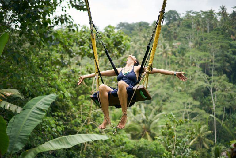 Lucie Harnošová na Bali