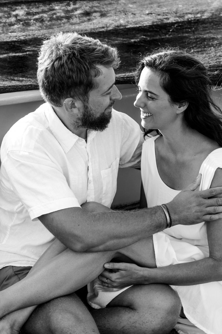 Lucie Harnošová a manžel