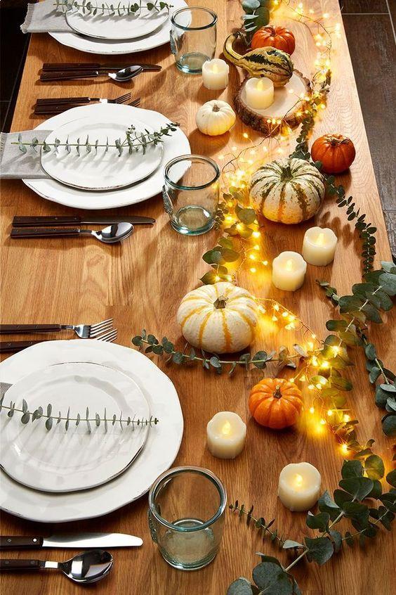 podzimní stolování