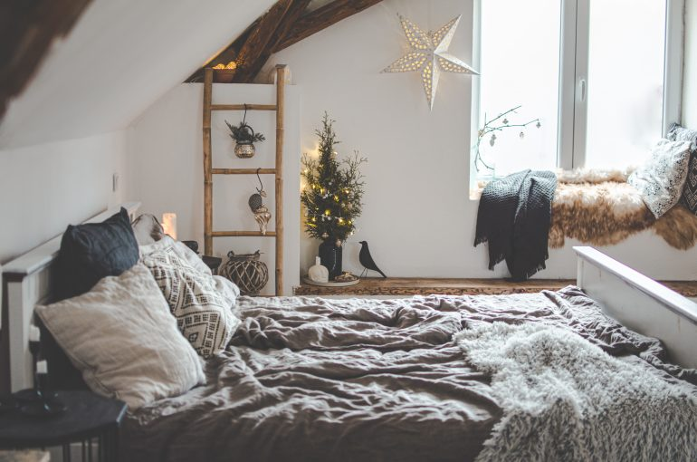 vánoce decor blanc