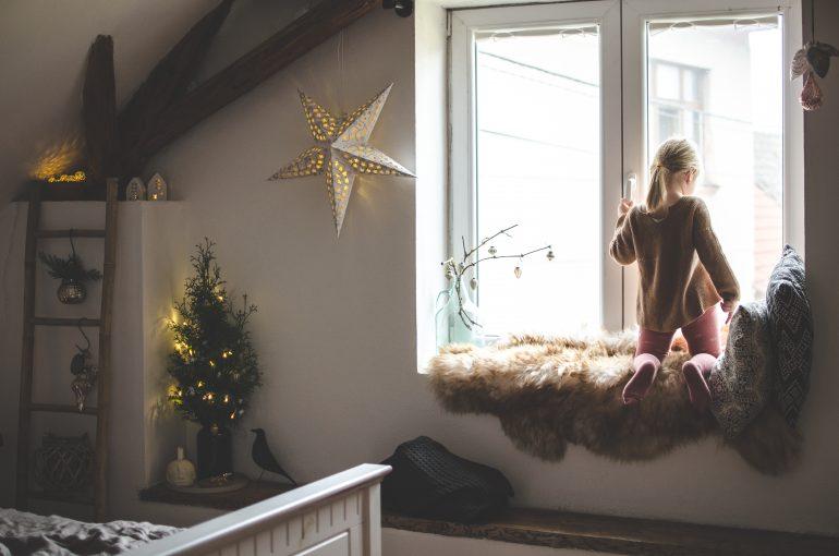 Vánoční výzdoba decor blanc
