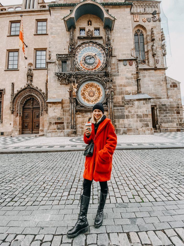 Mariana Prachařová v Praze