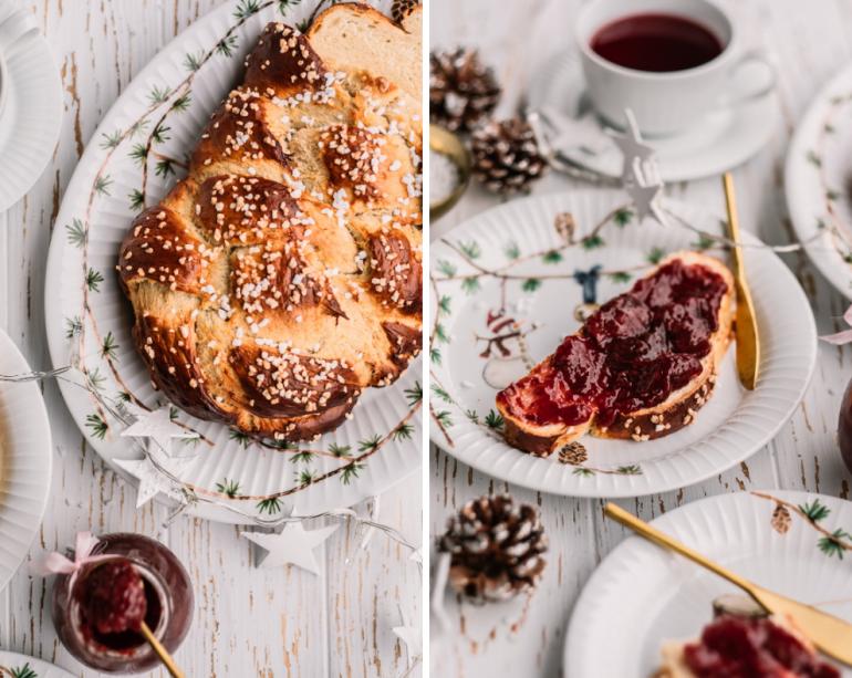 kardamomový chléb finská pulla