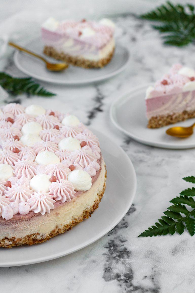 odlehčený cheesecake