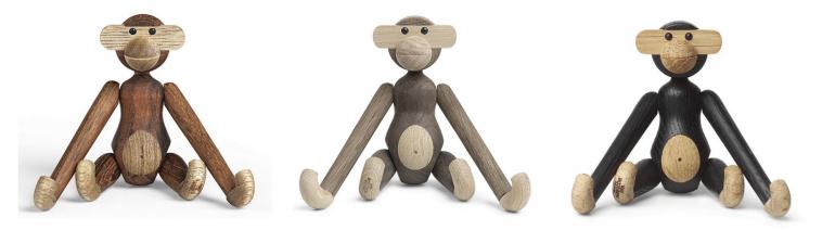 """nové značky - Přivítejte skotačivé dřevěné opičky, které se postarají o pěkný rozruch! Radost jimi udělala značka <a href=""""https://www.bellarose.cz/vyrobce/kay-bojesen-denmark/"""">Kay Bojesen Denmark.</a>"""