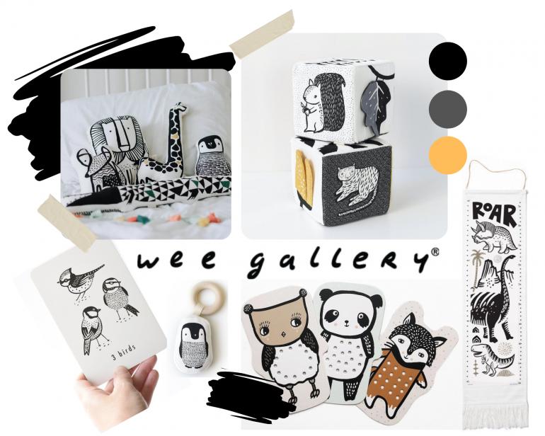 nové značky - wee gallery pro nejmenší
