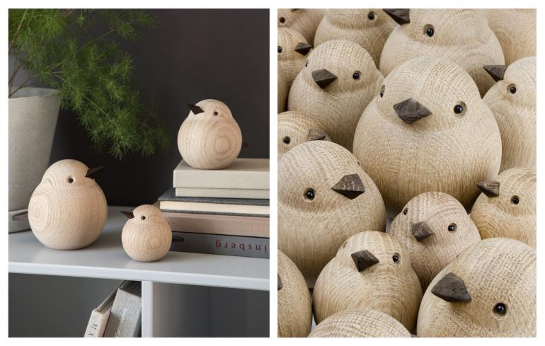 nové značky - dřevění vrabčáci novoform